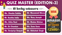 Quiz Master (Edition-3)