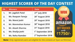 Highest Scorer of the Day Contest